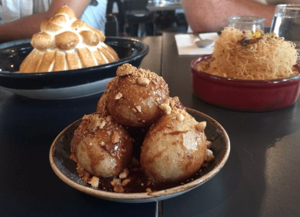 Gazi - Loukomathes w honey nutella