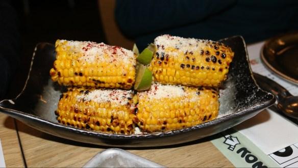 Kong - BBQ corn w miso butter chilli