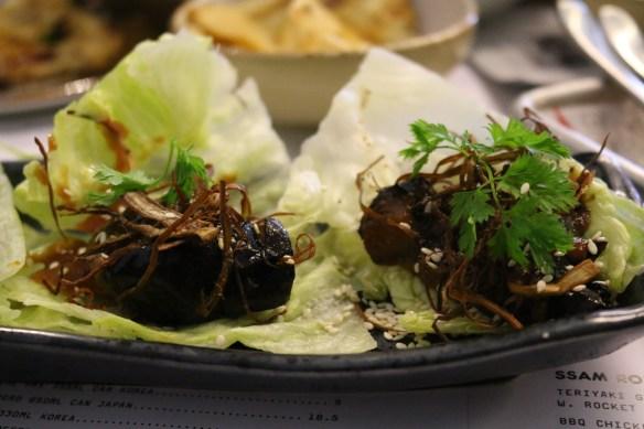 Kong - Miso caramelised eggplant