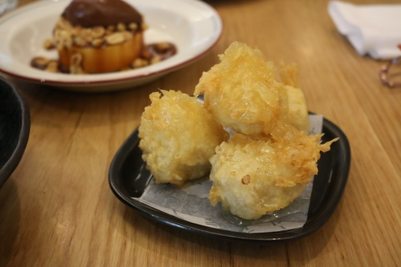 Supernormal - Fried custurd w ginger syrup