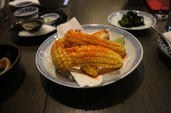 Lee Ho Fook - Corn w fermented chilli and lime
