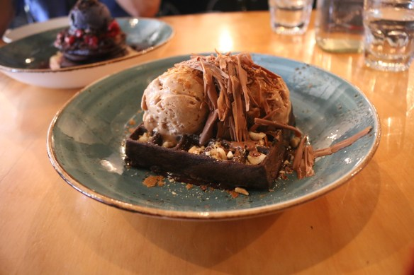 Axil coffee roasters - Ferrero Rocher waffles