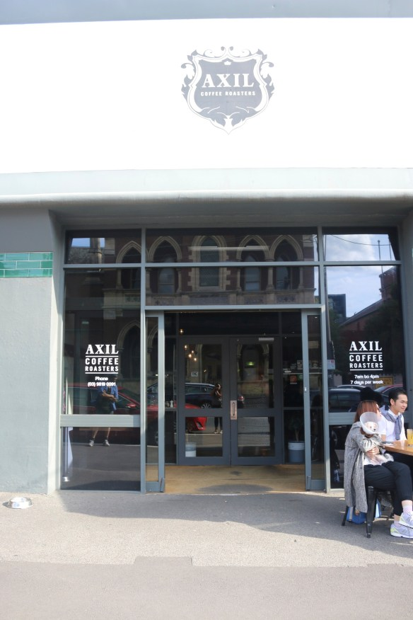 Axil coffee roasters - Street view