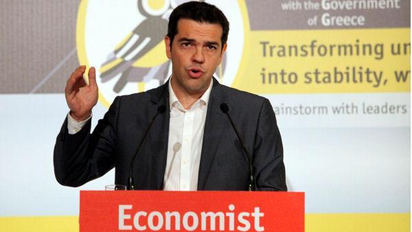 Τσιπρας Economist