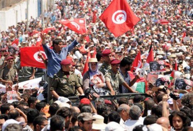 Τυνησια διαδηλωση