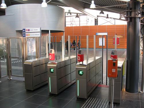 μετρό Βρυξέλλες ηλεκτρονικό εισιτήριο