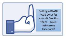 Μην φρικάρετε όταν δείτε την άσπρη οθόνη στο Facebook που έχει τρελάνει κόσμο…