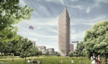 Ο ψηλότερος ουρανοξύστης θα έχει 34 ξύλινους ορόφους και θα κοσμεί το κέντρο της Στοκχόλμης (photos)