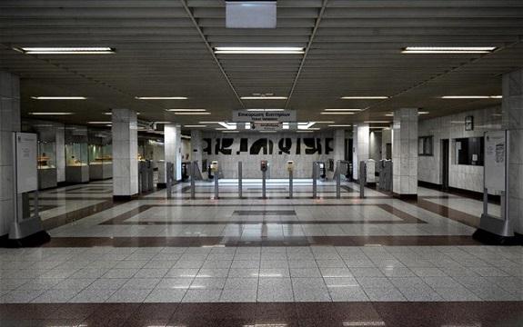 kleistoi stathmoi metro
