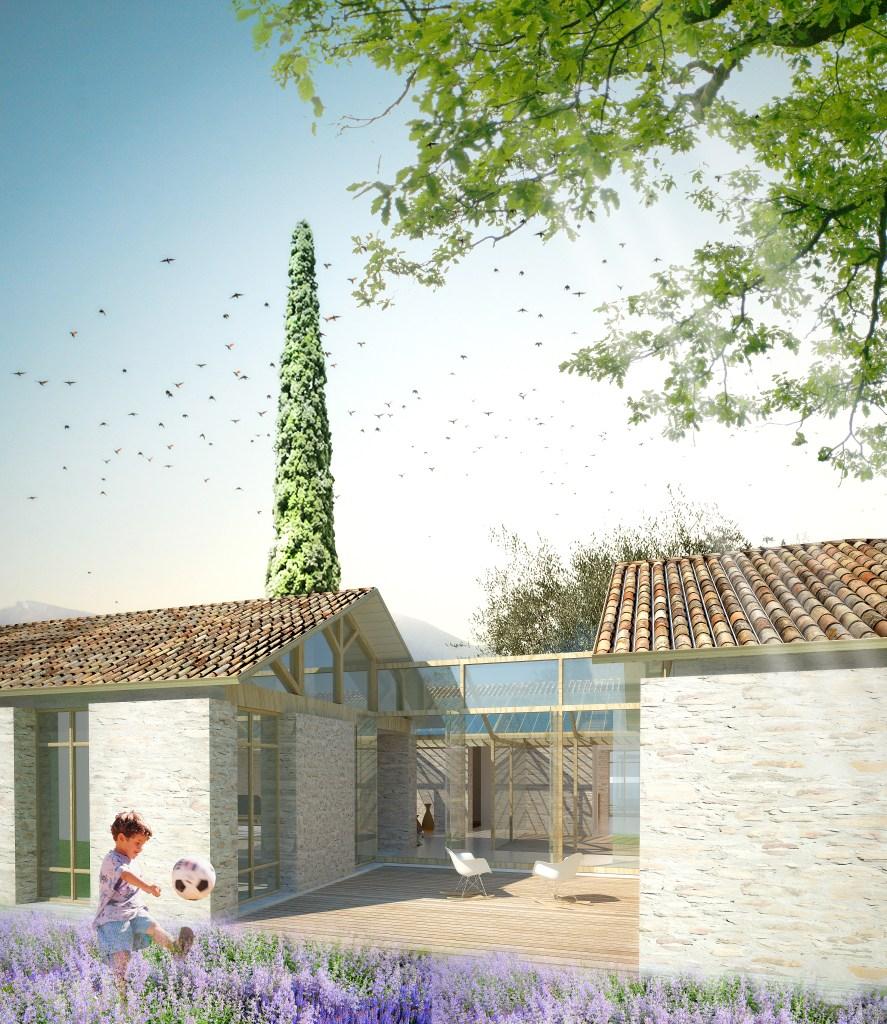 summer residence in greece