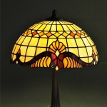 Barokk sítlusú Tiffany lámpa