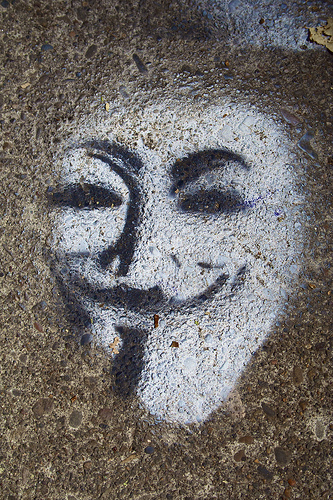 A Guy Fawkes Mask