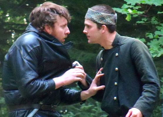 Peter Beard and Jay Minton in Macbeth from Animal Fire Theatre Group