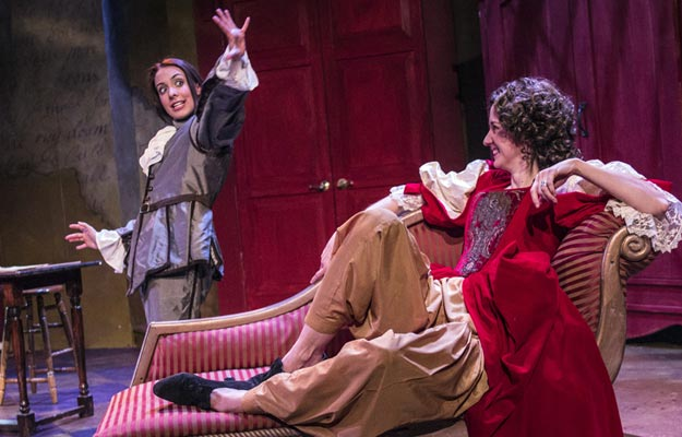 Amy Shephard and Kate Kraay in Or, at Harlequin Productions