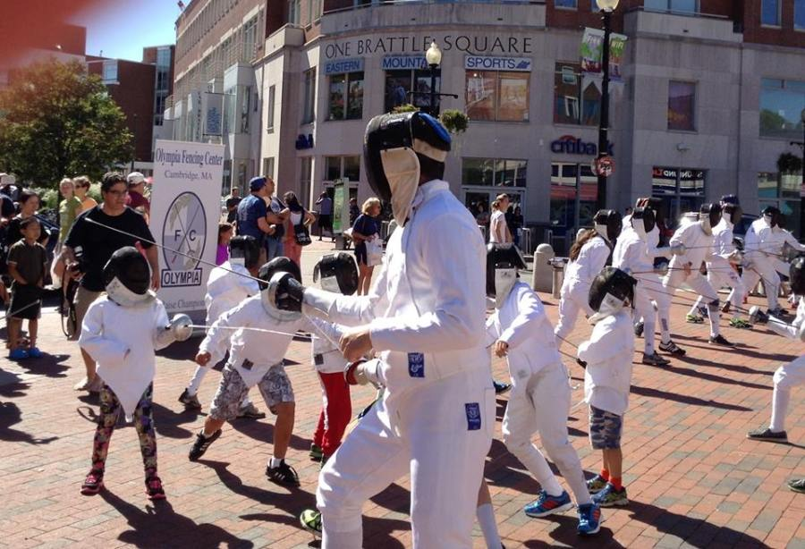 fencing in the Square