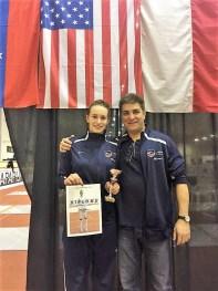 Greta Candreva, bronze, cadet WE