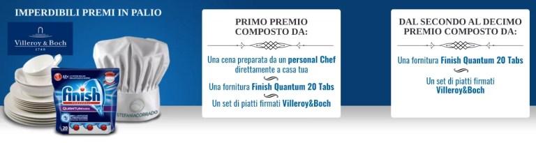 """Vinci una cena per 10 con il concorso Finish Ogni cena, tanti piatti"""""""