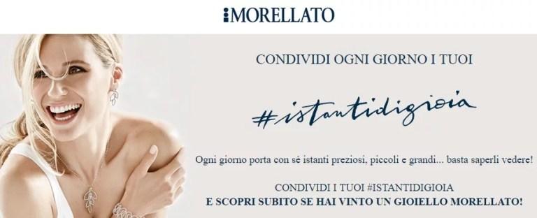 Gioielli Morellato in palio con il nuovo concorso #istantidigioia