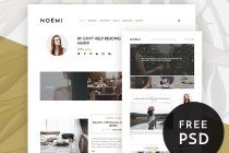 Free Noemi Blog Theme