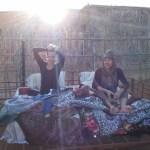 How we slept in the desert