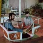 A very scary Ferris wheel in Ibri