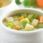 Kartoffel Lauch Suppe