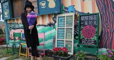 《美食*花蓮壽豐》花田小路。再訪雲山水文青哥的貨櫃屋,咖啡繪畫採玫瑰。