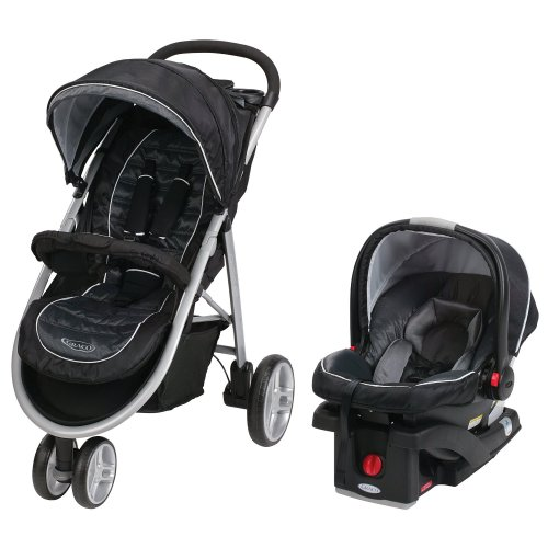 Medium Of Graco Click Connect Double Stroller