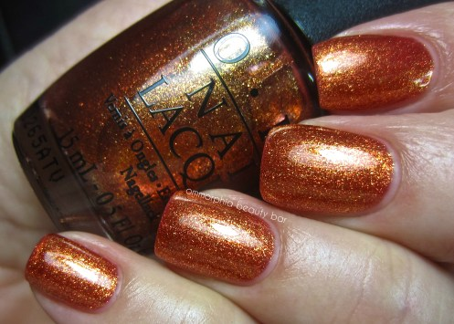 OPI A Woman's Prague-ative swatch