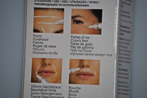 RoC Wrinkle Filler instructions
