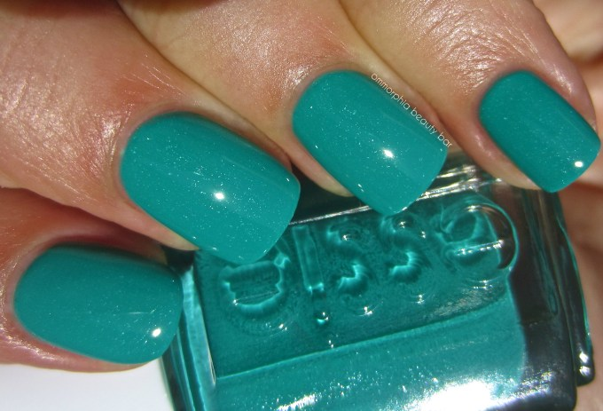 essie Naughty Nautical swatch 2