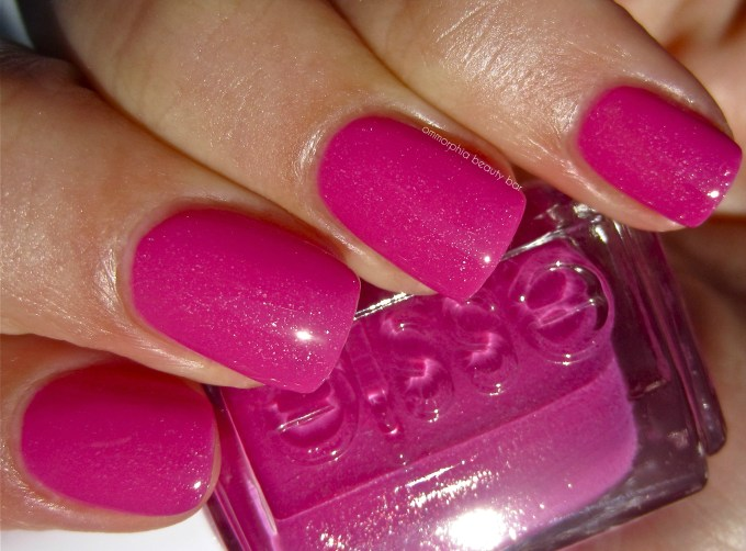 essie The Girls Are Out swatch 2
