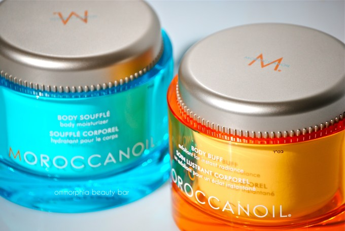 Moroccanoil Body Buff & Soufflé closer