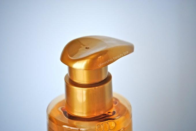 Mythic Oil Shampoo & Conditioner dispenser