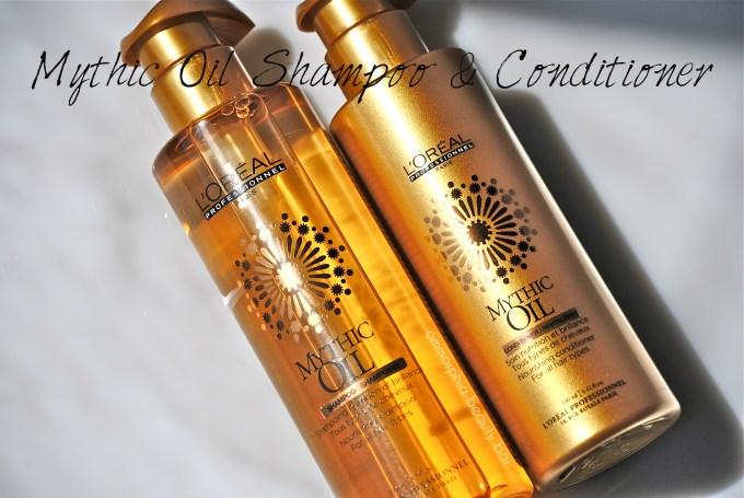 Mythic Oil Shampoo & Conditioner opener