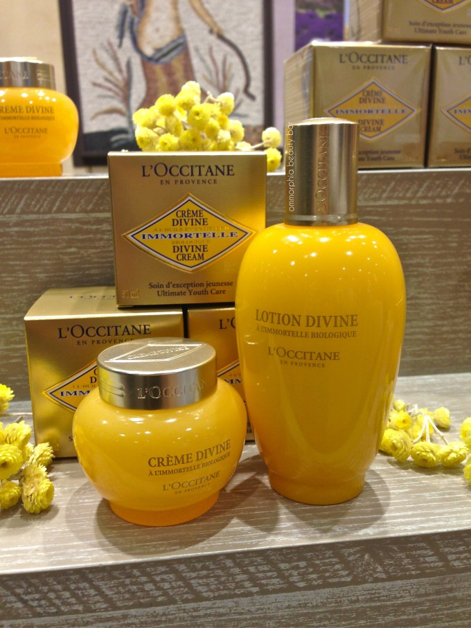 L'Occitane event Divine products