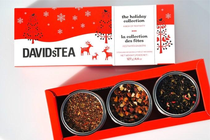 David's Tea Holiday open box
