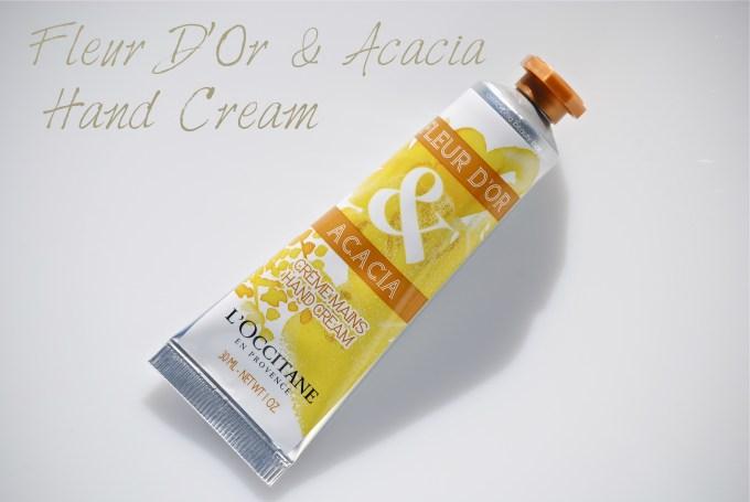 L'Occitane Fleur D'Or & Acacia Hand Cream