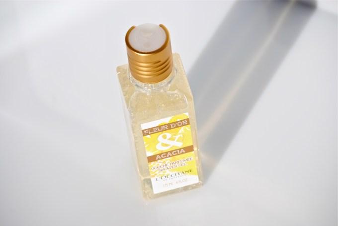 L'Occitane Fleur D'Or & Acacia Shimmering Shower Gel 2