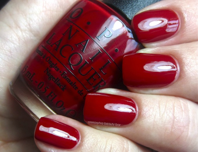 OPI All I Want for Christmas (is OPI) swatch 2