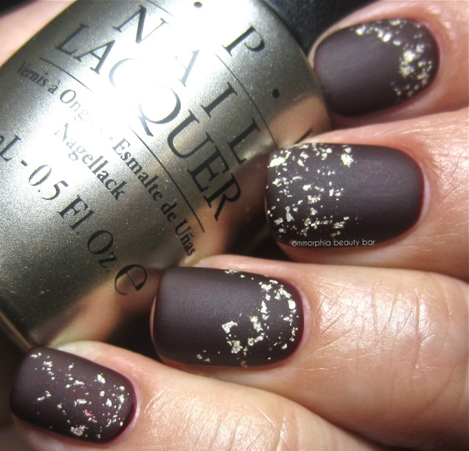 OPI Pure swatch matte 2