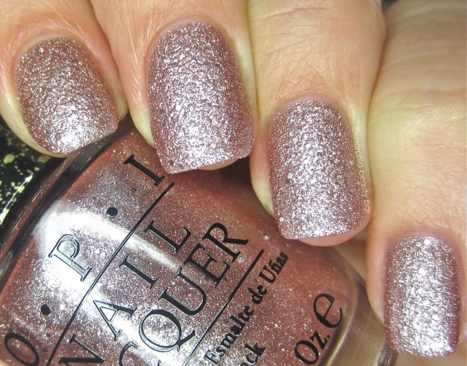 OPI Silent Stars Go BY swatch 2