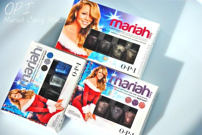 OPI Mariah Carey Minis opener