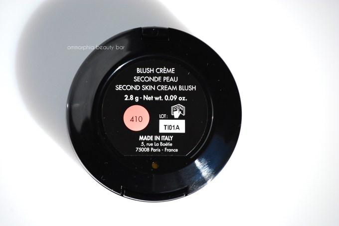 MUFE #410 label