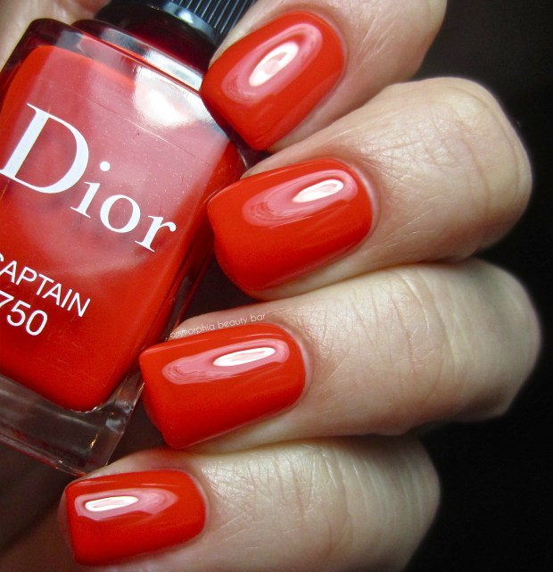 Dior Captain swatch
