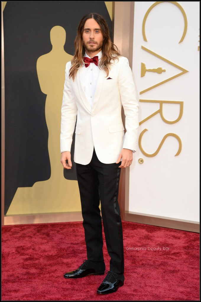 Jared Leto in Saint Laurent