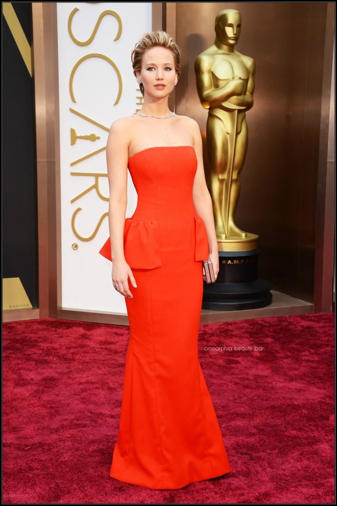 Jennifer Lawrence Dior gown