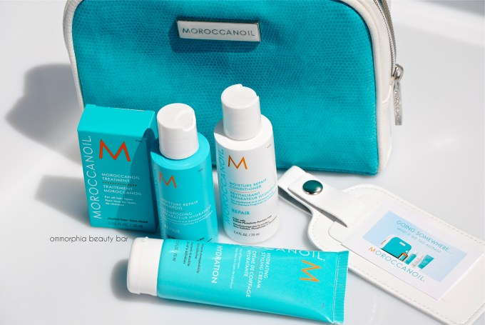 Moroccanoil Travel Kit & luggage tag 2