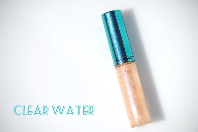 MAC Clear Water Lipglass opener