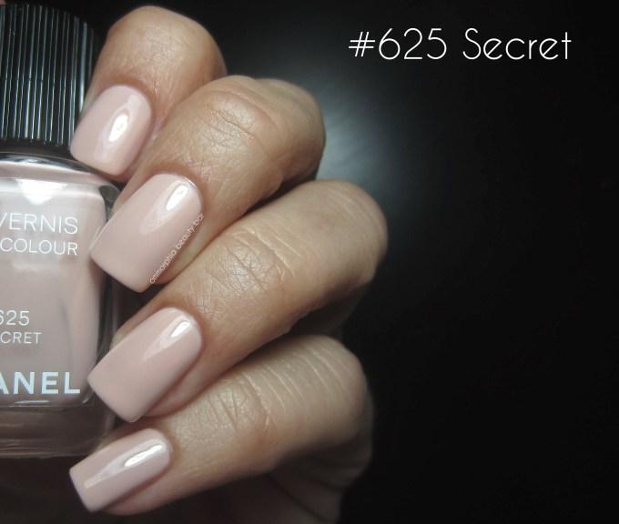 CHANEL #625 Secret swatch